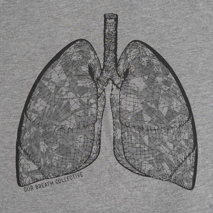 OBC lung shirt detail